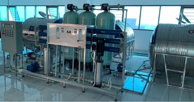 hệ thống lọc nước công nghiệp RO công suất lớn