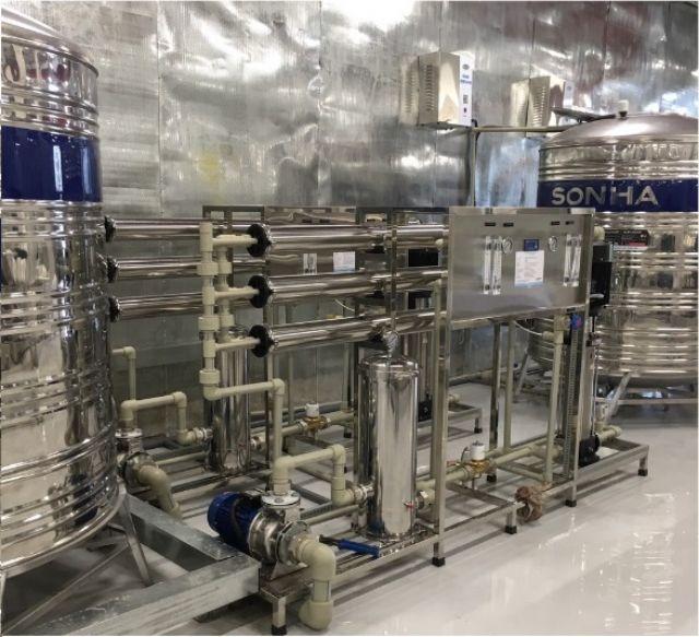 hệ thống máy lọc nước công nghiệp RO